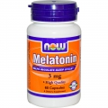 NOW Melatonin 3mg (Aids Sleep and Regeneration)